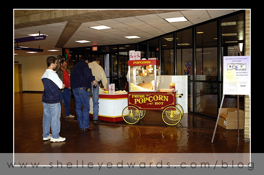 The famous Pop Corn machine at Scottish Rite.